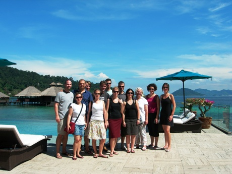 Product Managers Exploring Borneo