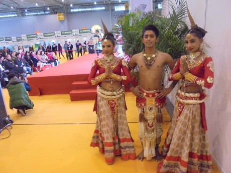 Culture Performance with traditional dancers from Sri Lanka