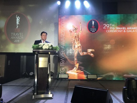Opening Ceremony at the TTG Travel Awards 2018 @Centara Grand Hotel and Convention Centre at Centralworld